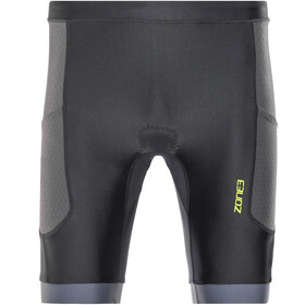 Zone3 Aquaflo+ Tri Shorts Men navy/grey/neon green
